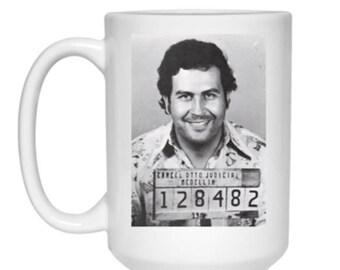 Pablo Escobar Premium Ceramic Coffee or Tea Mug