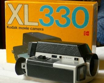 Vintage 1980's Kodak XL330 Movie Camera