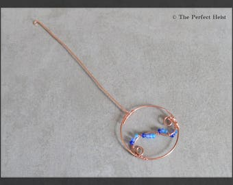 Orifice Hook, Spinning, Copper, Blue, Tools