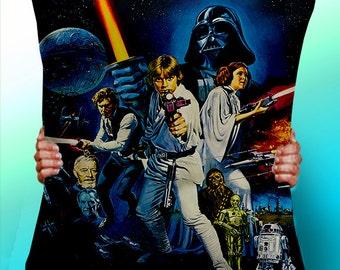 Star Wars Darth Vader Poster Luke - Cushion / Pillow Cover / Panel / Fabric