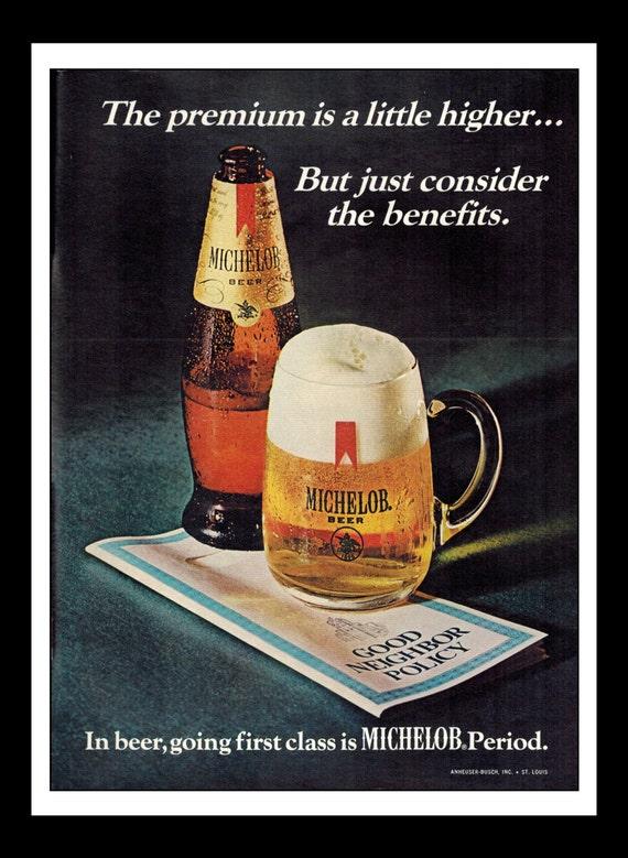 Vintage beer ad Michelob Dry sweatshirt pteXc9