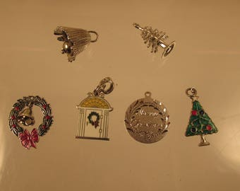 Christmas Charm / Pendant 925   @ A Village Coin Bullion 11/28/1 B