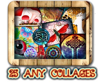 Special Offer - Buy 25 Any Digital Collage Sheets