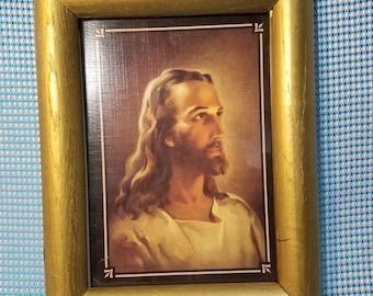 Vintage Jesus print
