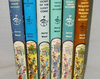 Vintage The Happy Hollisters Children's Books