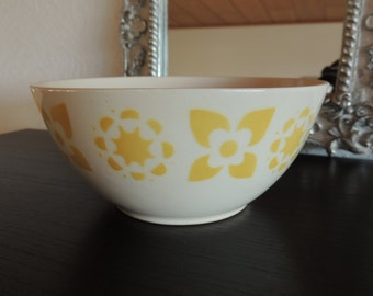 Cereal Bowl - Bowl - ISA 4 - Germany - splash decor - yellow flowers and stars