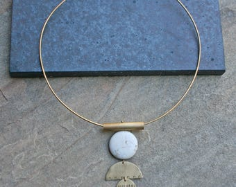 Collar Necklace, Simple Necklace, Statement Necklace, Simple Necklace, PHEONIX