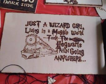 Targa harry potter hermione granger