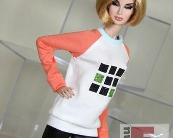"Fashion Doll Sweater ""3x3 #5"""