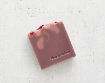Blushing Phoenix Soap (VICE) Lychee, Oolong Tea, Palmarosa & Vetiver - Rooibos Tea and Clay Soap