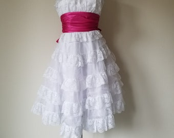 Vintage 1950's Style Retro Cupcake Prom/Formal/Wedding Dress