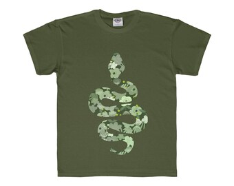 Slytherin Floral Kids Tee