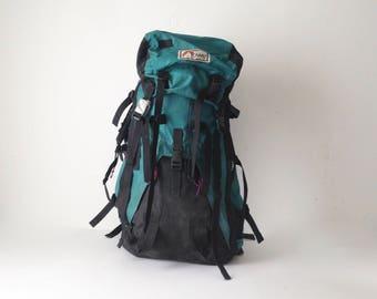 90s LOWE brand adventure BACKPACK mountaineering camping daypack CLASSIC lightweight hiking biking bag