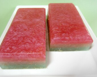 Rose Soap, Loofah Soap, Exfoliating soap - Valentines Day Soap,  Floral Soap, Mothers Day Soap, Garden Soap, Spring Soap, Summer Soap