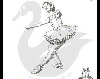 Princess Ballerina Tutu Sewing Pattern Size 4-11yrs PDF