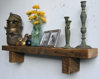 Rustic Wood Shelf - lumber from an 1860/70's Gold Mine Camp in the Eastern Sierras