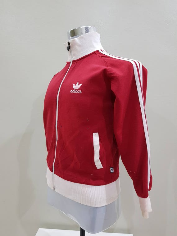Vintage Adidas Trefoil Big Logo Spell Out White Colour Sweatshirt Casual Adult Unisex Wear (B12) 3PHTmHCL