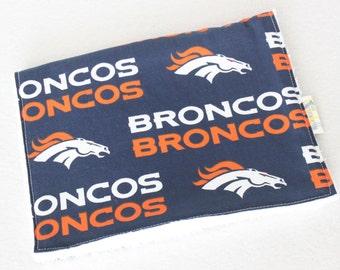 Broncos Baby, Broncos Burp Cloth, Broncos Burp Towel, Broncos Towel, Blue and Orange Baby, Broncos, Denver Broncos, Denver Broncos Baby,
