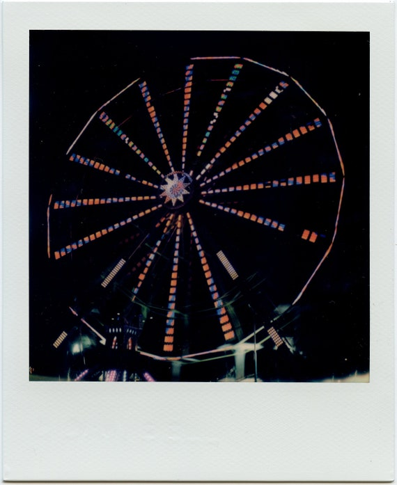 Neon Ferris Wheel