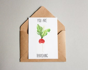 Funny Foods Greeting Card