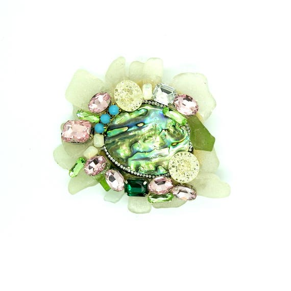 Extra large brooches