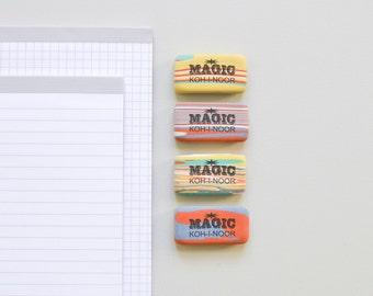 Gommes à effacer colorés marbré R002 Magic Eraser Koh-i-noor