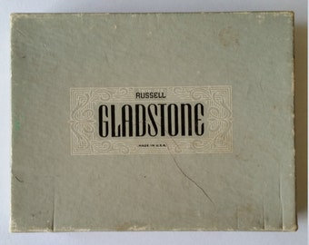 Vintage Russell Gladstone Double Deck Playing Cards.Vintage Playing Cards By Russell Gladstone. Russell Gladstone Twin Dex USA Playing Cards