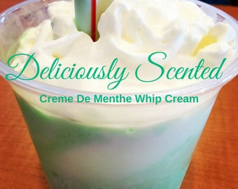 1/2 or 1 oz CREME DE MENTHE Whip Cream Premium Fragrance Oil for candles, soap, cosmetics, soap making, pure, skin safe, supply, sample