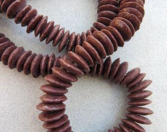 Umber Ashanti Beads