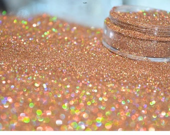 Nail art , craft, beauty , cosmetic grade glitter - sunkissed