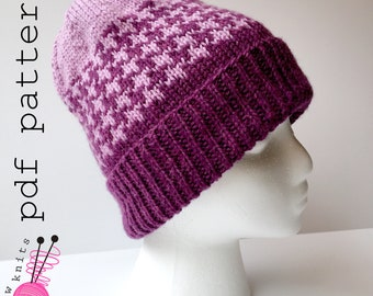 fear knit hat pattern inspired by Inside Out
