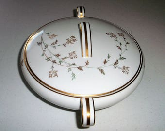Noritake Florence Round Covered Vegetable Bowl Casserole