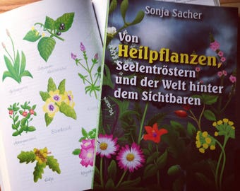 """Book """"of Medicinal plants, souls comforters and the world behind the visible""""/medicinal plants/herbalists/herbs/Herbal Magic"""