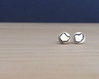 ohio earrings | stud earrings | ohio studs | jewelry for her