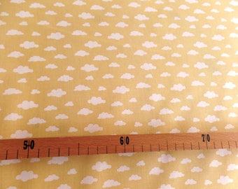 Cloud pattern cotton fabric