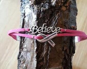 Anklet: Breast Cancer Awareness