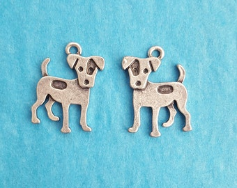 Jack Russell/ Russell Terrier Dog Charms
