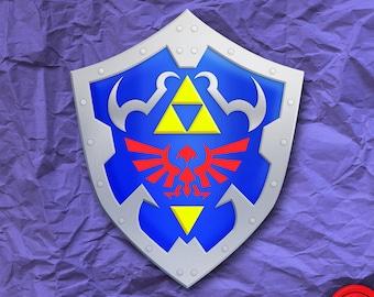 Hylian Shield Legend of Zelda Sticker