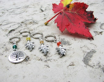 Tree of Life Non-Snag Stitch Markers