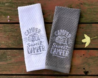 Camper Sweet Camper Kitchen Towel