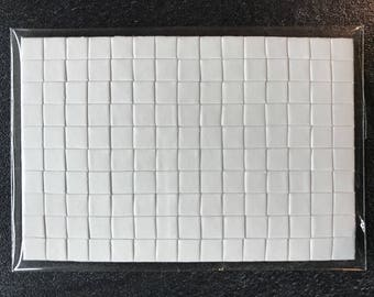 5 x 7.5 cm - foam pre-cut with sticky pads for double sided 3D mounting
