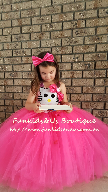 Hermosa Niñas Vestidos De Fiesta Australia Ornamento - Colección de ...