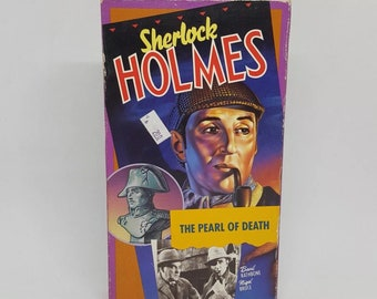 Sherlock Holmes and the Pearl of Death (VHS, 1993)