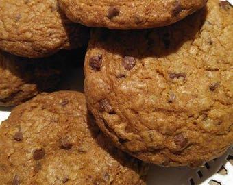 Organic chocolate Chop cookies