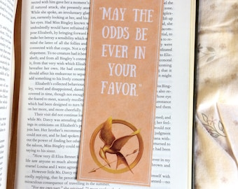 The Hunger Games Quote Bookmark