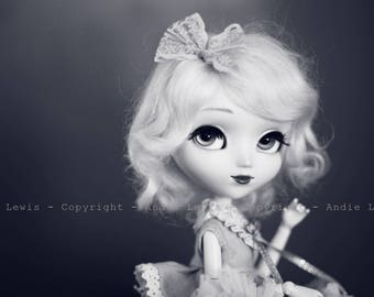 "Tirage simple 10x15cm ""Marilyn"" - Pullip Isul Dal photographie, doll art collection, impression deco no BJD no Blythe"