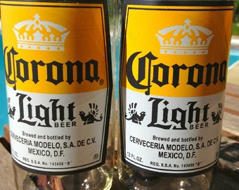 Corona Light Juice Glasses-Pair