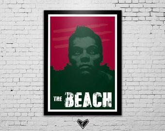 The Beach - Leonardo Dicaprio Poster