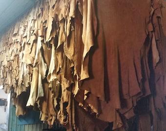 Top Grain Leather Side 17SqFt