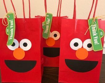 Elmo and Abby Cadabby Bags